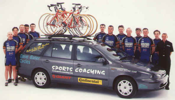 The Sports Coaching Cycling Team
